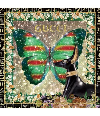 Ter Halle Gucci - Green Butterfly