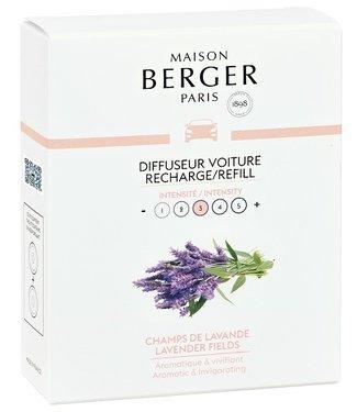 Maison Berger Maison Berger - Auto parfum Lavender Fields - Navulling 2 stuks