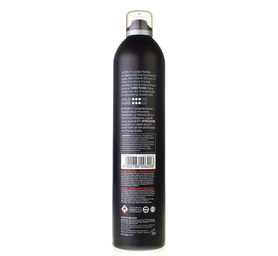 Mode Work It Flexible Hairspray 300ml