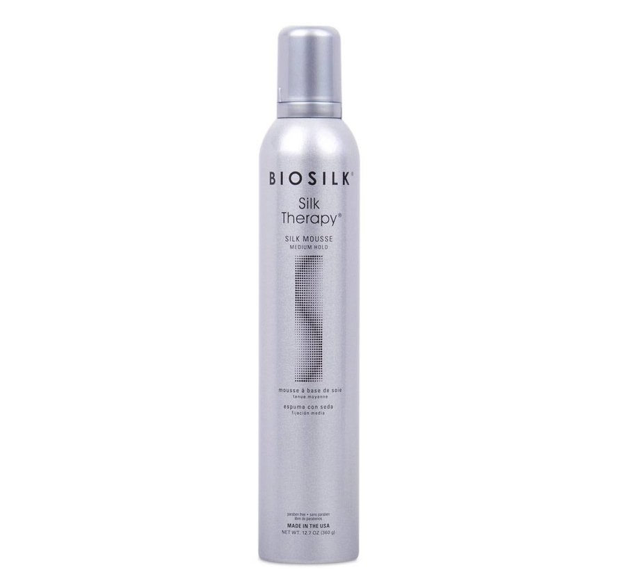 Silk Therapy Mousse Medium Hold - 360gr.