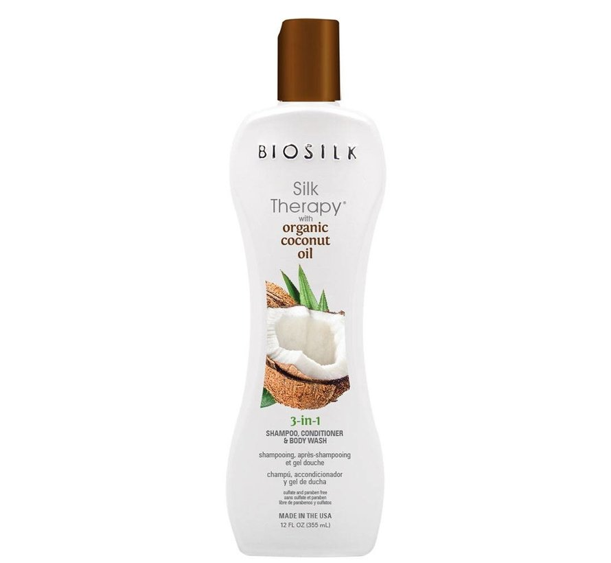 Organic Coconut Oil 3-in-1