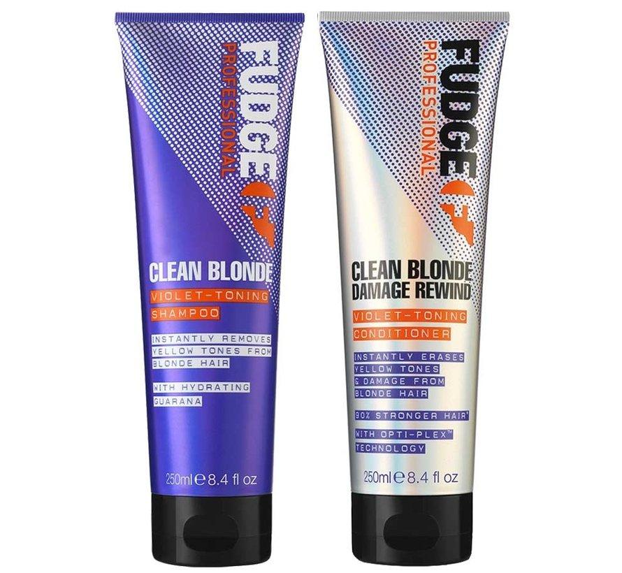 Clean Blonde Violet Duo Pack - 2X250ml