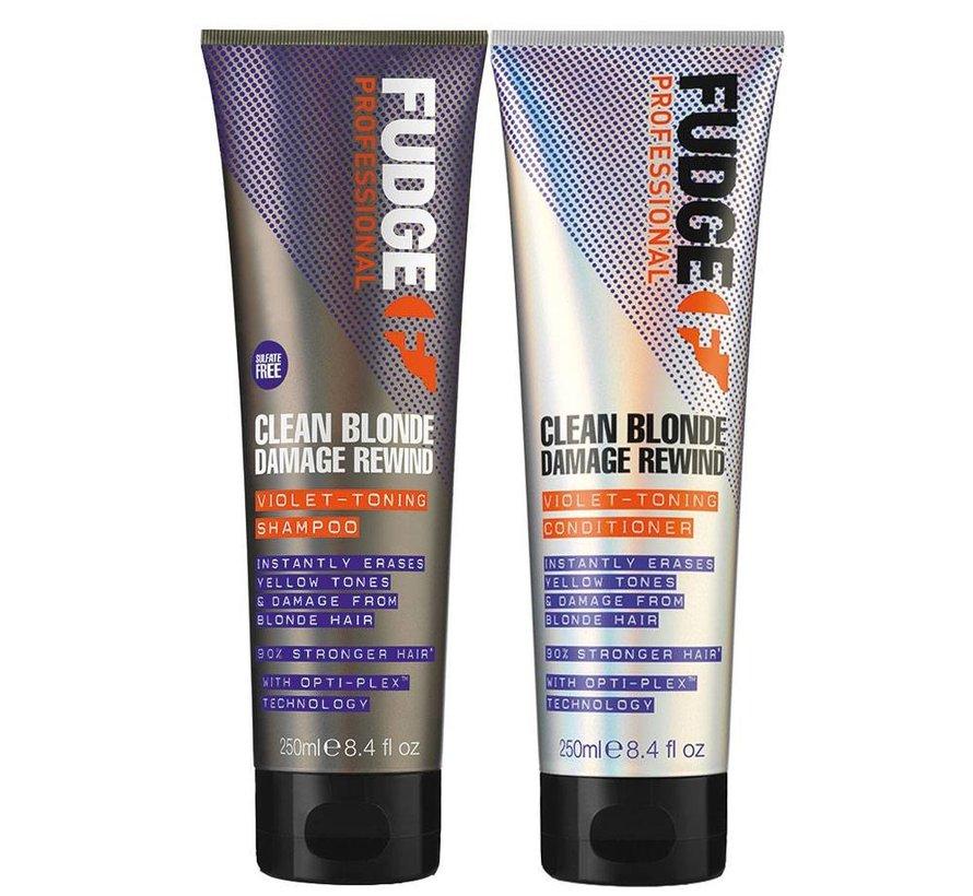 Clean Blonde Violet Duo Pack - 2X300ml