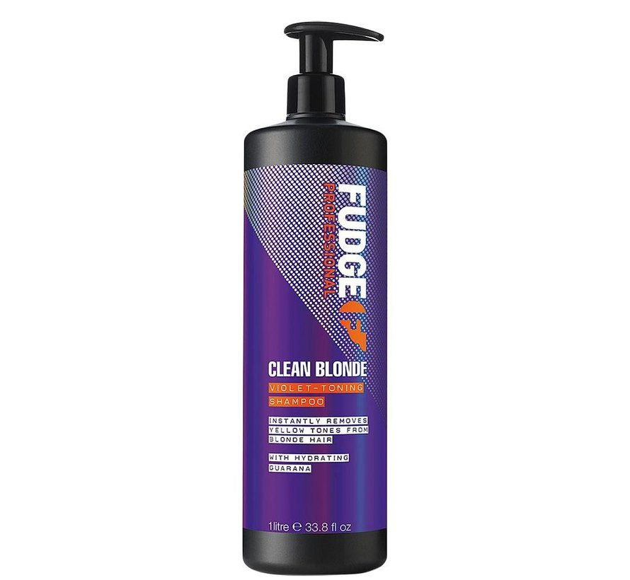 Clean Blonde Violet Toning Shampoo