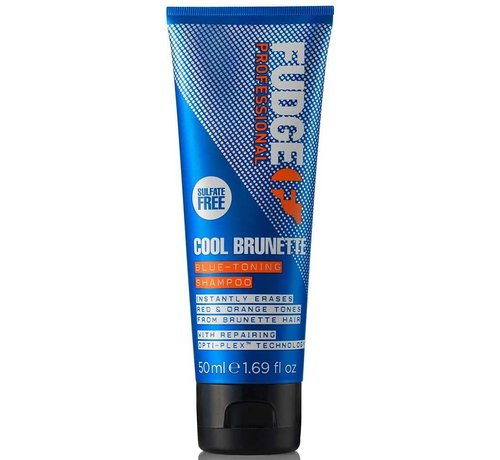 Fudge Cool Brunette Blue Toning Shampoo