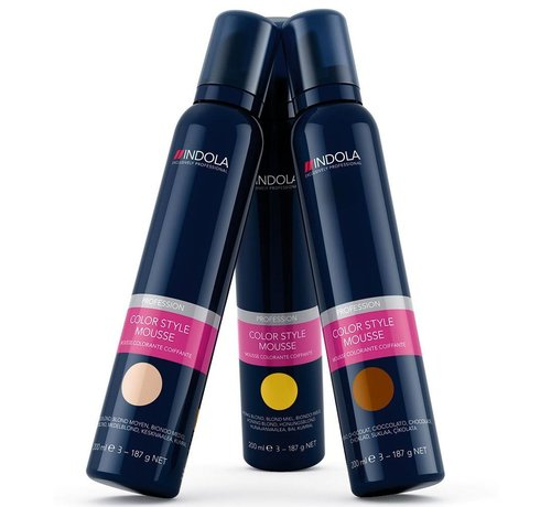 Indola Color Style Mousse - 200ml