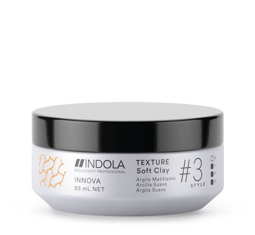 Indola Innova Texture Soft Clay #3 Style - 85ml