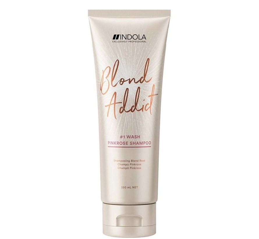 Innova Blond Addict Pink Rose Shampoo #1 Wash - 250ml