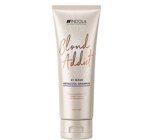 Indola Innova Blond Addict InstaCool Shampoo #1 Wash - 250ml