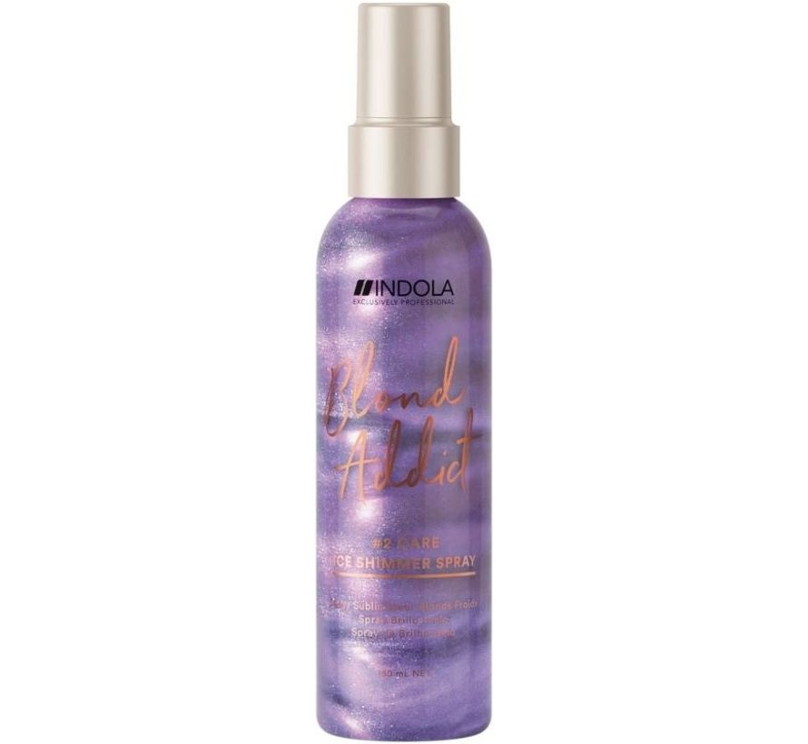 Blond Addict Ice Shimmer Spray #2 Care - 150ml