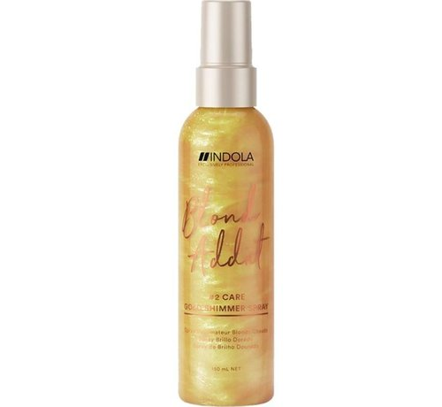 Indola Blond Addict Gold Shimmer Spray #2 Care - 150ml