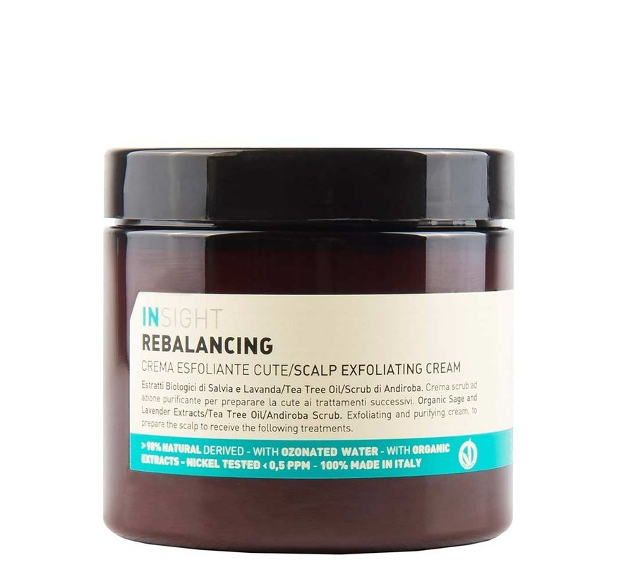 Rebalancing Scalp Exfoliating Cream