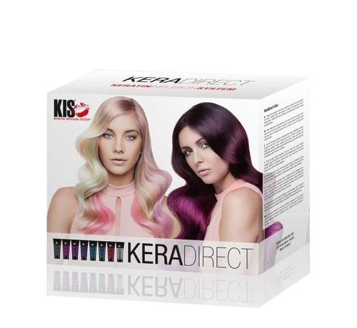 KIS KeraDirect Haarfarbe Intro Box