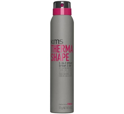 KMS California Thermashape 2-in-1 Styling + Finish 200ml