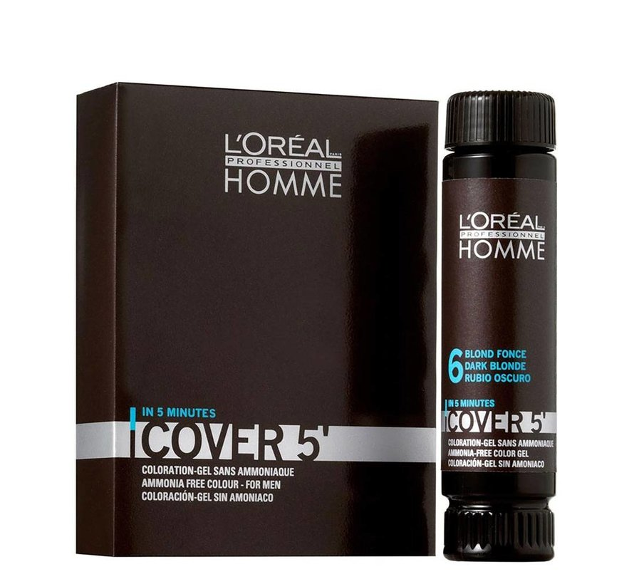 Homme Cover 5 Minuten - 3X50ml