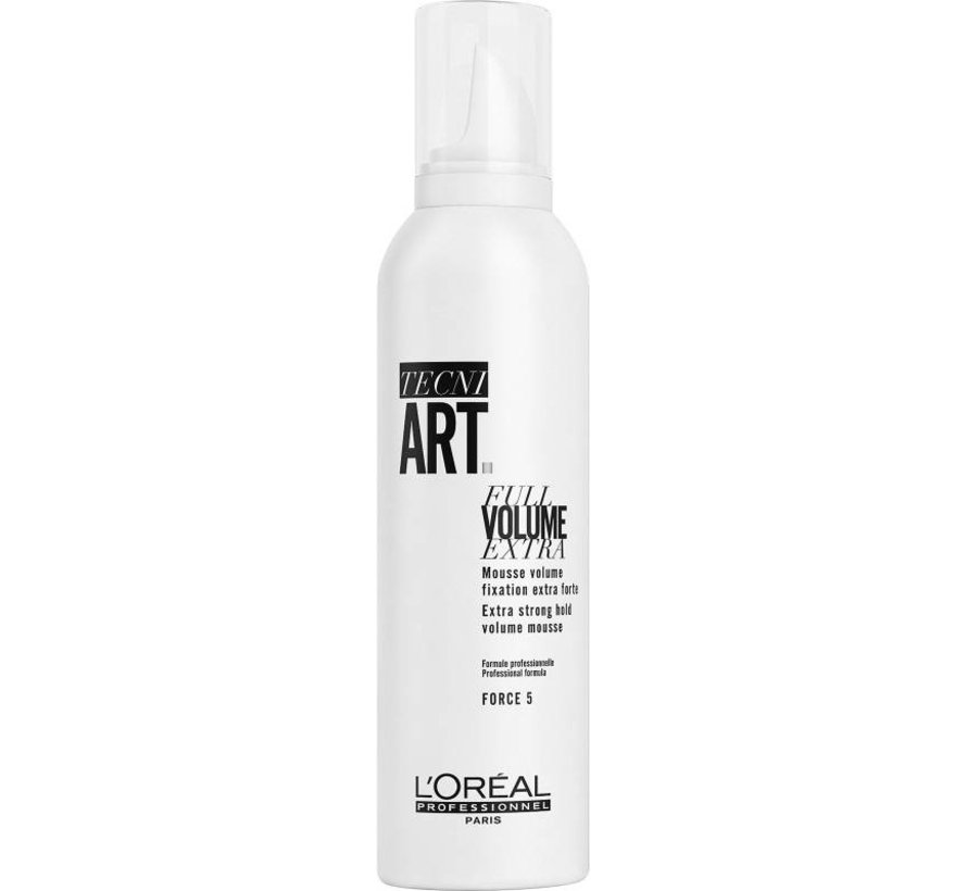 TecniArt Full Volume Extra Strong Mousse - 250ml