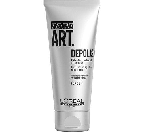 L'Oreal TecniArt Depolish 4 Destructuring Paste - 100ml