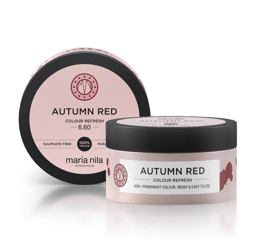 Colour Refresh 6.60 Autumn Red