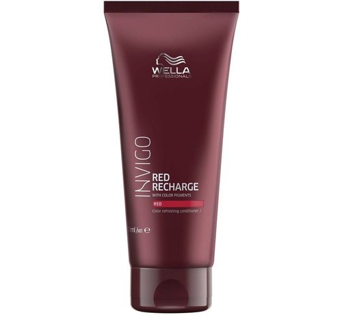 Wella Invigo Red Recharge Kleur Conditioner - 200ml