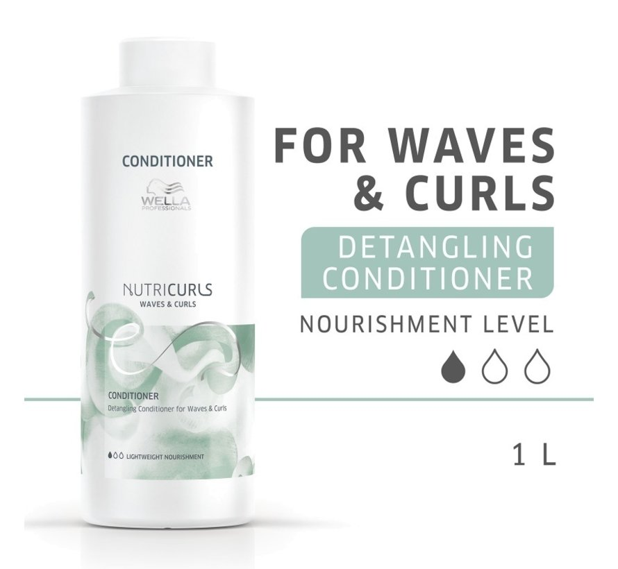 Nutri Curls Detangling Conditioner for Waves & Curls