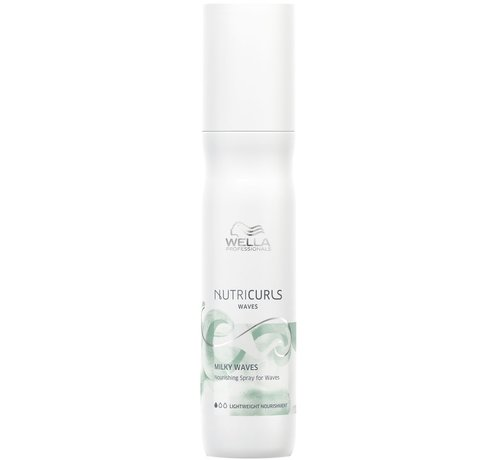 Wella Nutricurls Milky Waves Nourishing Spray - 150ml