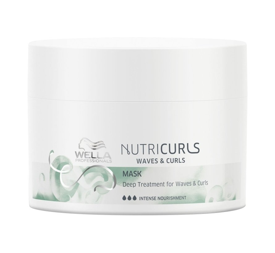 Nutricurls Deep Treatment Mask for Curls & Waves
