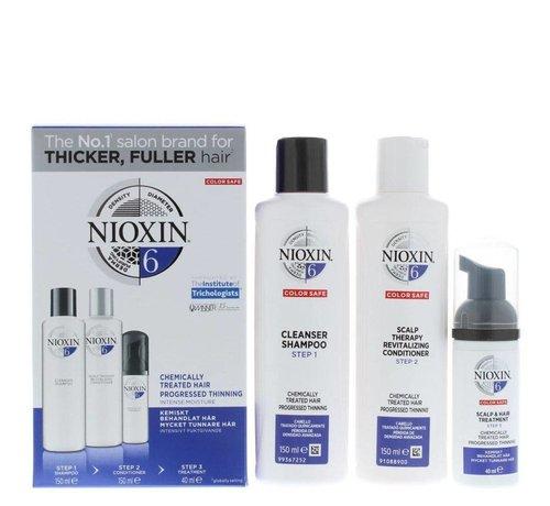 Nioxin System 6 - Trial Kit - 150x150x50ml