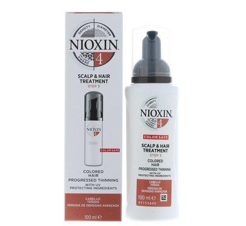 Nioxin System 4 - Scalp & Hair Treatment - 100ml