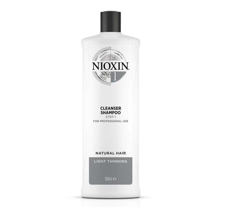 System 1 - Shampoo / Reiniger - 1000ml