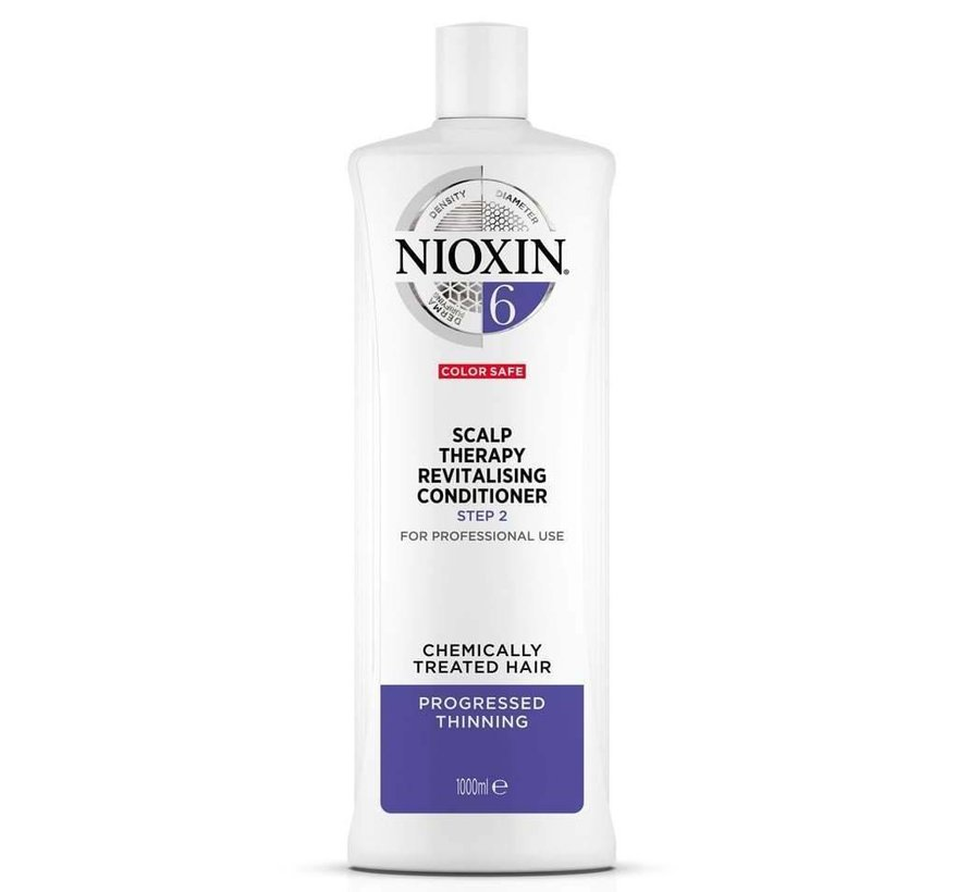 System 6 - Scalp Therapy Revitalising Conditioner - 1000ml