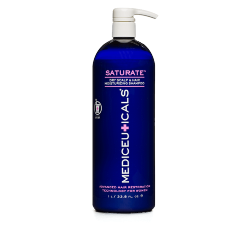 Mediceuticals Saturate Moisturizing Shampoo - 1000ml