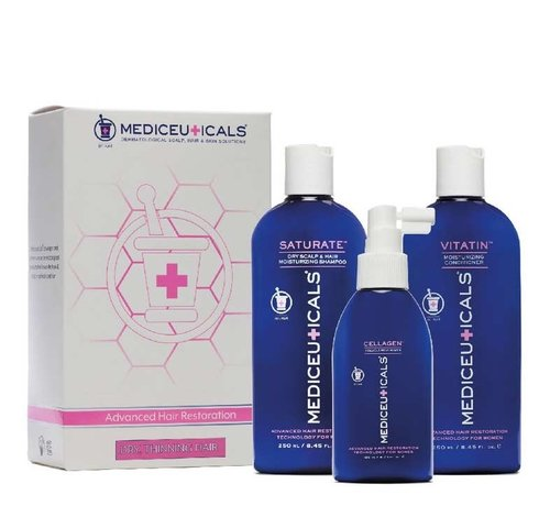 Mediceuticals Hair Restoration Kit for Women - Dry