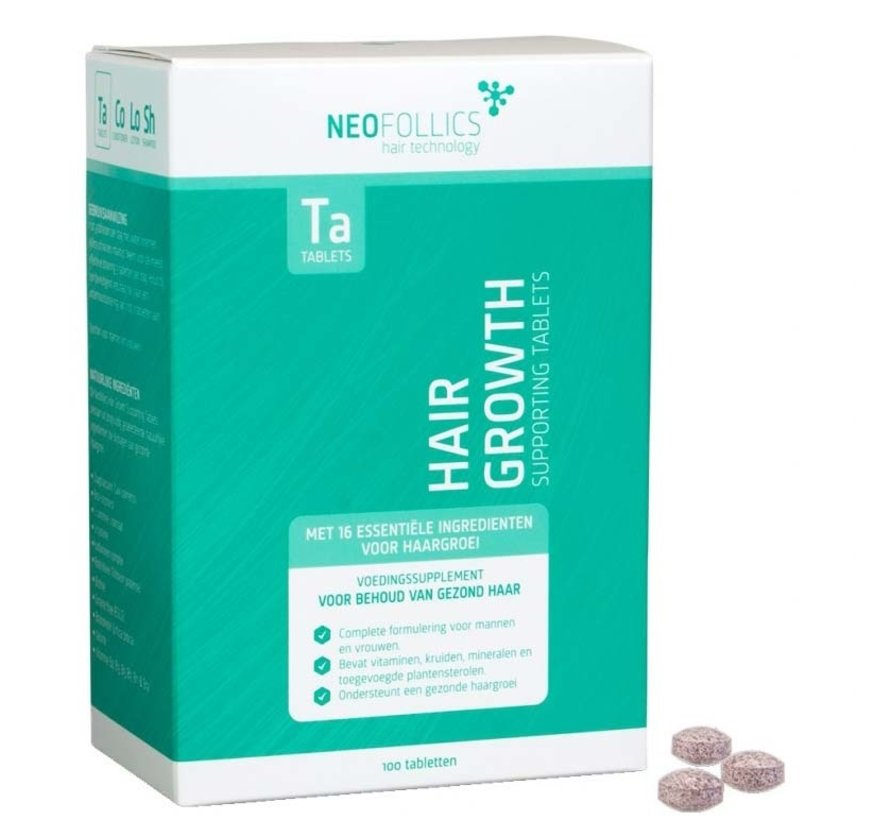 Hair Growth Supporting Tablets - 100st