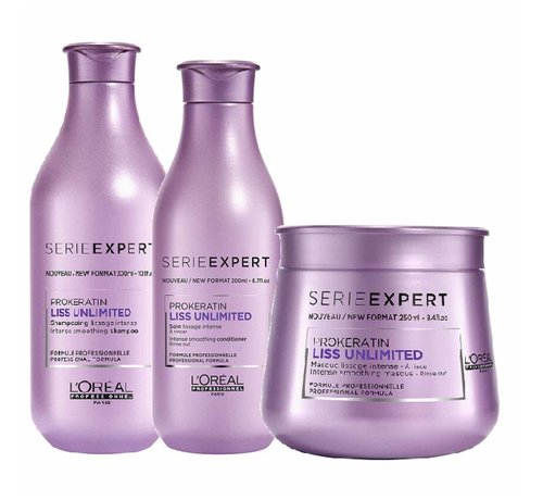 L'Oreal Série Expert Liss Unlimited Intense Smoothing - Set