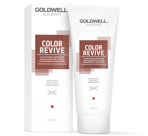 Goldwell Dualsenses Color Revive Conditioner Warm Brown - 200ml