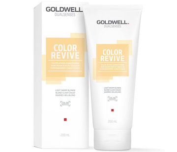 Goldwell Color Revive Conditioner - Light Warm Blonde