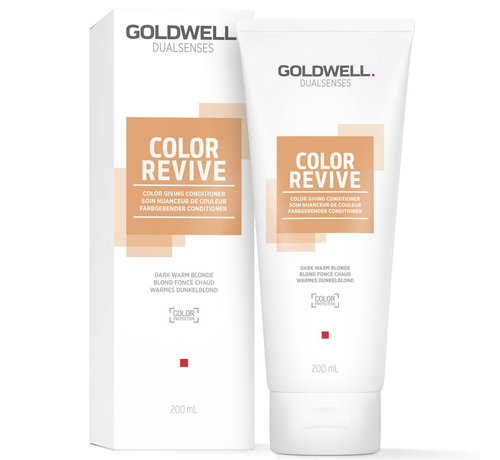 Goldwell Dualsenses Color Revive Conditioner Dark Warm Blonde - 200ml