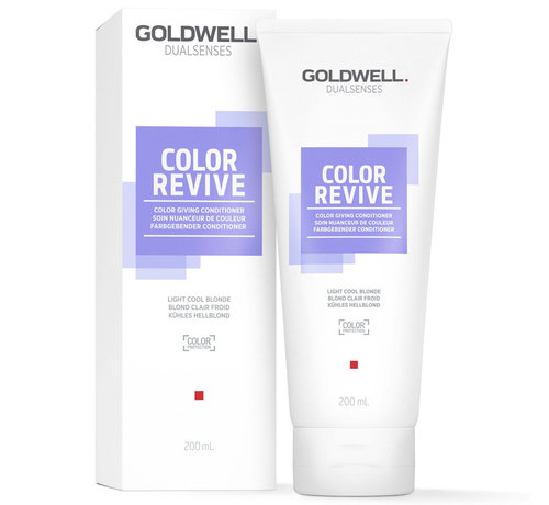 Goldwell Dualsenses Color Revive Light Cool Blonde Conditioner - 200ml