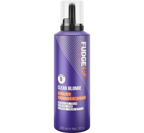 Fudge Clean Blonde Violet Xpander Foam - 200ml