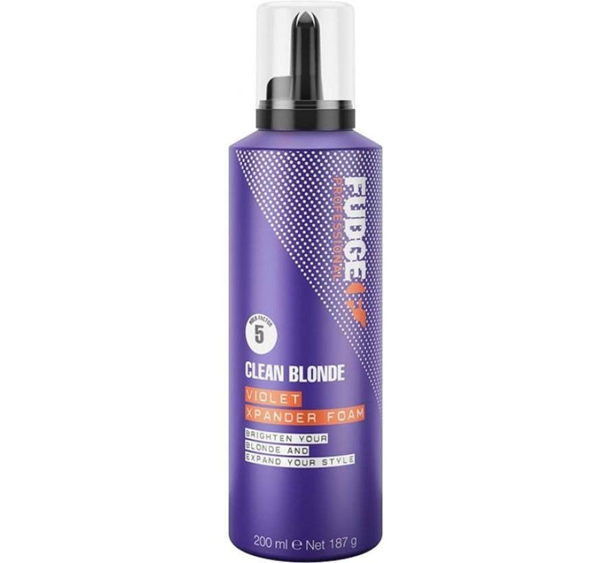 Clean Blonde Violet Xpander Foam - 200ml