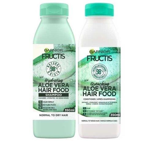 Fructis - Aloe Vera Hair Food - Set