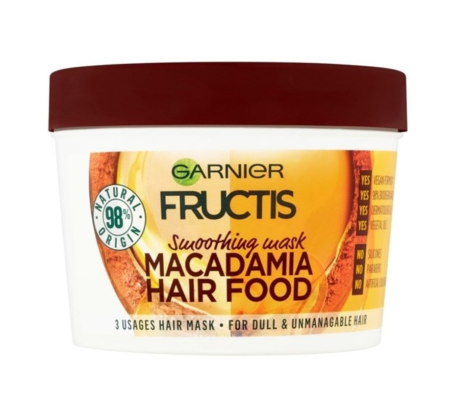 Fructis - Macadamia Hair Food Mask - 390ml