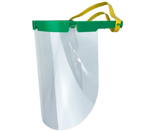 Schutz Maske Transparent - 3 Schirme