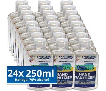 Quiclean Desinfektionsmittel Handgel 24X