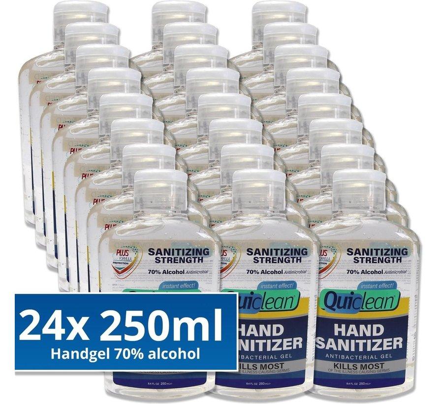 Desinfektionsmittel Handgel 70% Alkohol - 24X250ml
