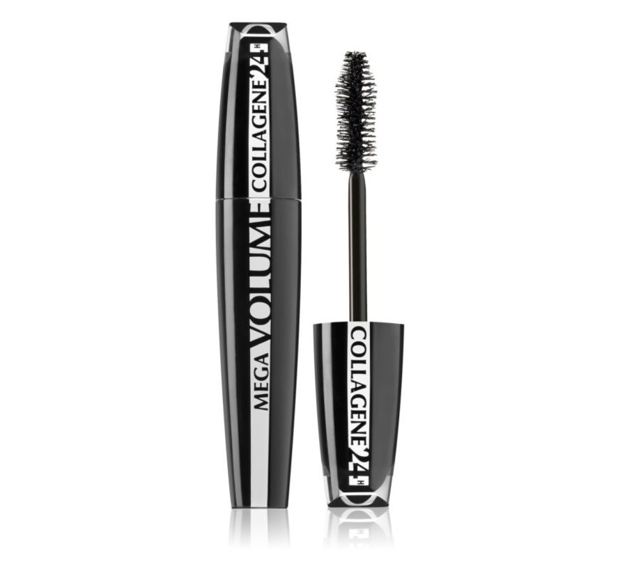 Mega Volume Collagene 24H Mascara Extra Black - 9ml