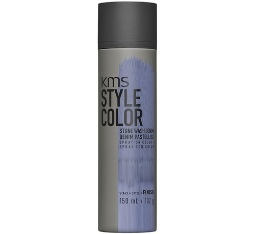 KMS California Style Color Spray Stone Wash Denim - 150ml