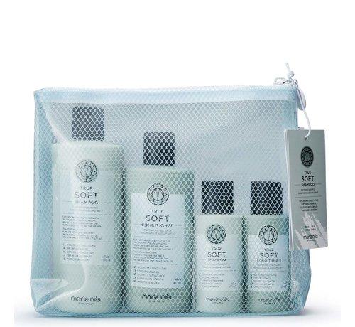 True Soft Shampoo & Conditioner Beauty Bag