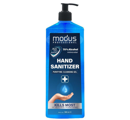Modus Reinigungs Hygienisches Handgel 70% Alkohol - 1000ml