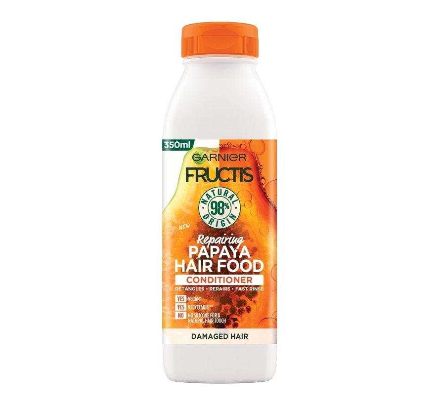 Fructis - Papaya Hair Food Conditioner - 350ml